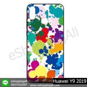 MHW-016A108 Huawei Y9 2019 เคสหัวเหว่ยแบบยางนิ่มพิมพ์ลาย