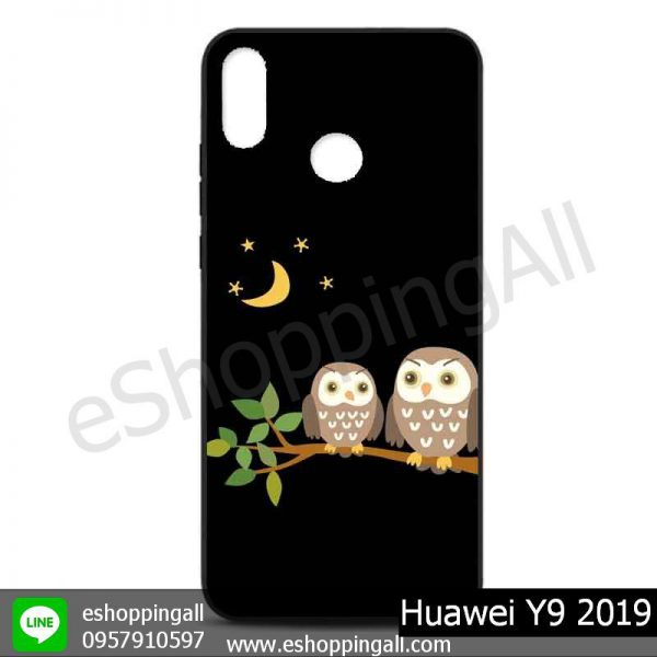 MHW-016A129 Huawei Y9 2019 เคสหัวเหว่ยแบบยางนิ่มพิมพ์ลาย