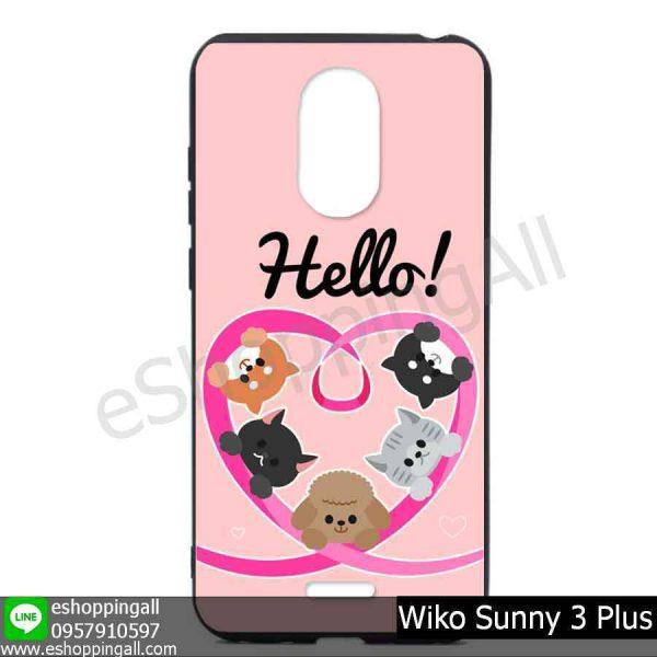 MWI-004A101 Wiko Sunny 3 Plus เคสมือถือวีโก้ซันนี่แบบยางนิ่มพิมพ์ลาย