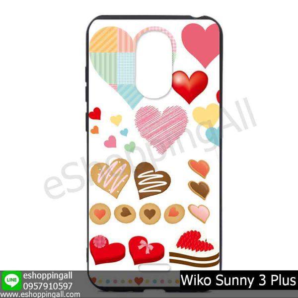 MWI-004A102 Wiko Sunny 3 Plus เคสมือถือวีโก้ซันนี่แบบยางนิ่มพิมพ์ลาย