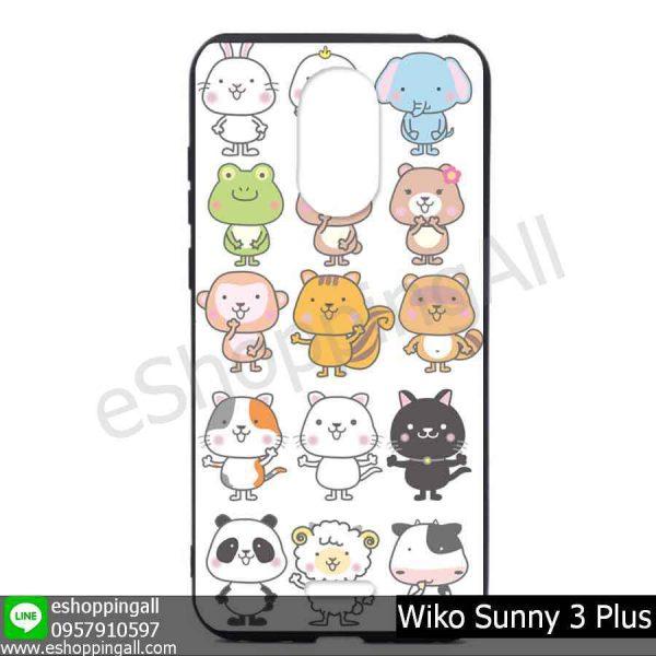 MWI-004A103 Wiko Sunny 3 Plus เคสมือถือวีโก้ซันนี่แบบยางนิ่มพิมพ์ลาย
