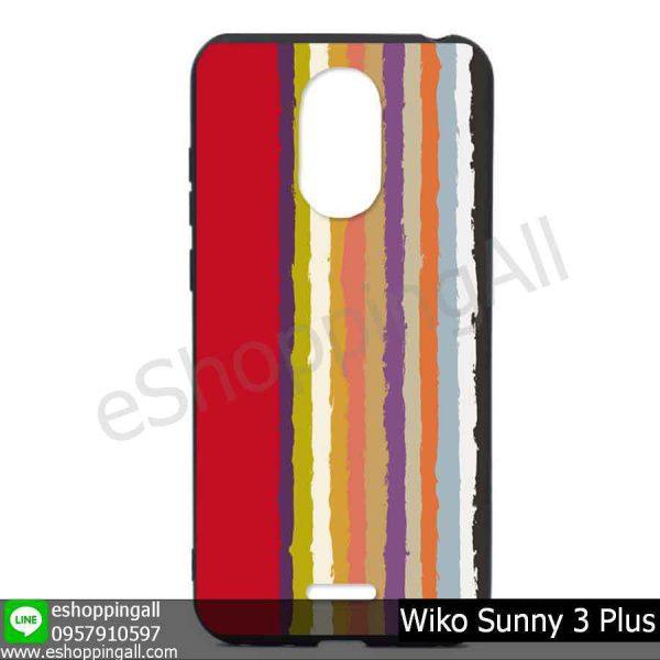 MWI-004A104 Wiko Sunny 3 Plus เคสมือถือวีโก้ซันนี่แบบยางนิ่มพิมพ์ลาย
