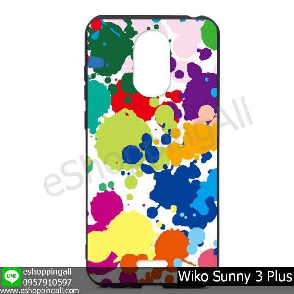 MWI-004A105 Wiko Sunny 3 Plus เคสมือถือวีโก้ซันนี่แบบยางนิ่มพิมพ์ลาย
