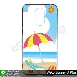 MWI-004A109 Wiko Sunny 3 Plus เคสมือถือวีโก้ซันนี่แบบยางนิ่มพิมพ์ลาย