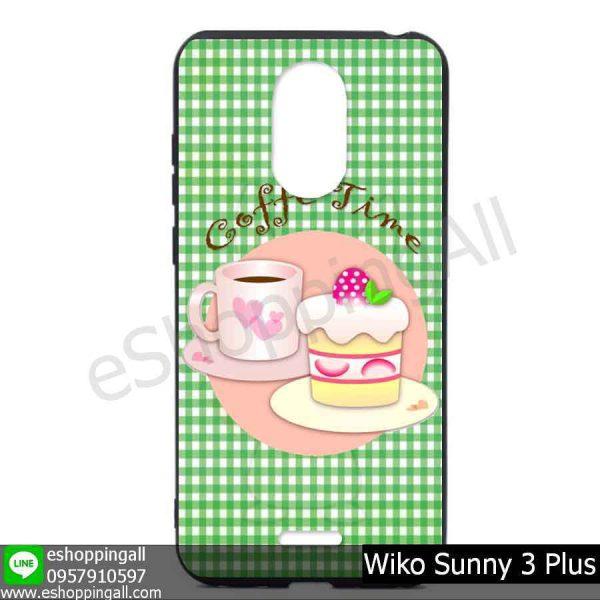 MWI-004A111 Wiko Sunny 3 Plus เคสมือถือวีโก้ซันนี่แบบยางนิ่มพิมพ์ลาย