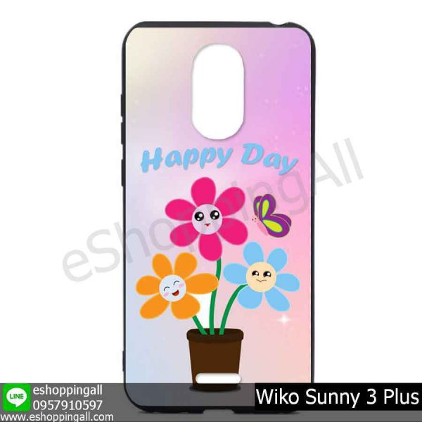 MWI-004A112 Wiko Sunny 3 Plus เคสมือถือวีโก้ซันนี่แบบยางนิ่มพิมพ์ลาย