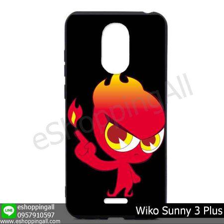 MWI-004A115 Wiko Sunny 3 Plus เคสมือถือวีโก้ซันนี่แบบยางนิ่มพิมพ์ลาย
