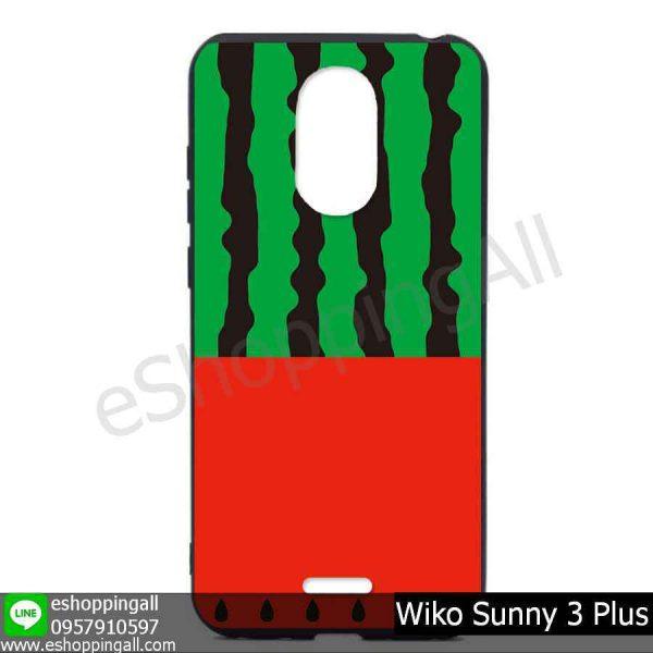 MWI-004A121 Wiko Sunny 3 Plus เคสมือถือวีโก้ซันนี่แบบยางนิ่มพิมพ์ลาย