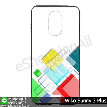 MWI-004A122 Wiko Sunny 3 Plus เคสมือถือวีโก้ซันนี่แบบยางนิ่มพิมพ์ลาย
