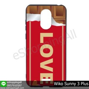 MWI-004A123 Wiko Sunny 3 Plus เคสมือถือวีโก้ซันนี่แบบยางนิ่มพิมพ์ลาย