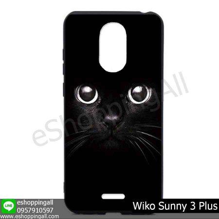 MWI-004A124 Wiko Sunny 3 Plus เคสมือถือวีโก้ซันนี่แบบยางนิ่มพิมพ์ลาย