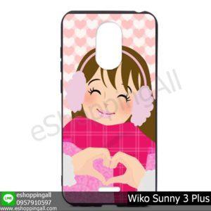 MWI-004A125 Wiko Sunny 3 Plus เคสมือถือวีโก้ซันนี่แบบยางนิ่มพิมพ์ลาย