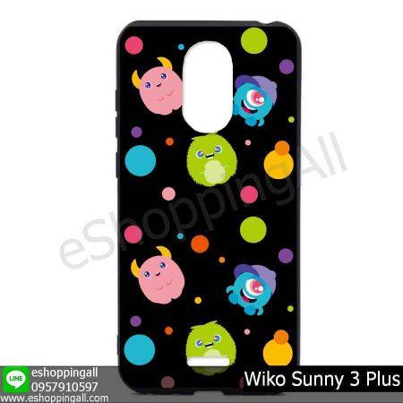 MWI-004A126 Wiko Sunny 3 Plus เคสมือถือวีโก้ซันนี่แบบยางนิ่มพิมพ์ลาย