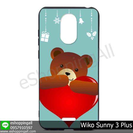 MWI-004A128 Wiko Sunny 3 Plus เคสมือถือวีโก้ซันนี่แบบยางนิ่มพิมพ์ลาย