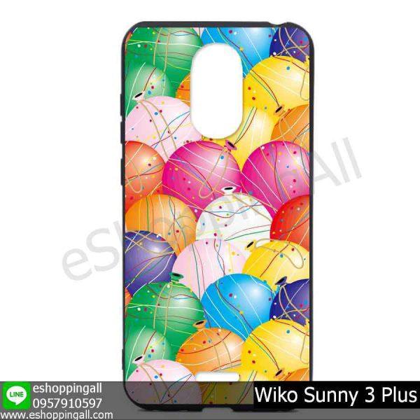 MWI-004A130 Wiko Sunny 3 Plus เคสมือถือวีโก้ซันนี่แบบยางนิ่มพิมพ์ลาย