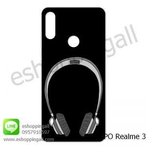 MOP-007A109 OPPO Realme3 เคสมือถือออปโป้แบบแข็งพิมพ์ลาย