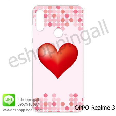 MOP-007A110 OPPO Realme3 เคสมือถือออปโป้แบบแข็งพิมพ์ลาย