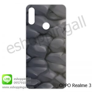 MOP-007A112 OPPO Realme3 เคสมือถือออปโป้แบบแข็งพิมพ์ลาย