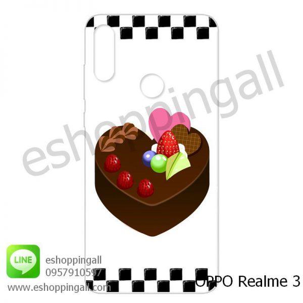 MOP-007A114 OPPO Realme3 เคสมือถือออปโป้แบบแข็งพิมพ์ลาย