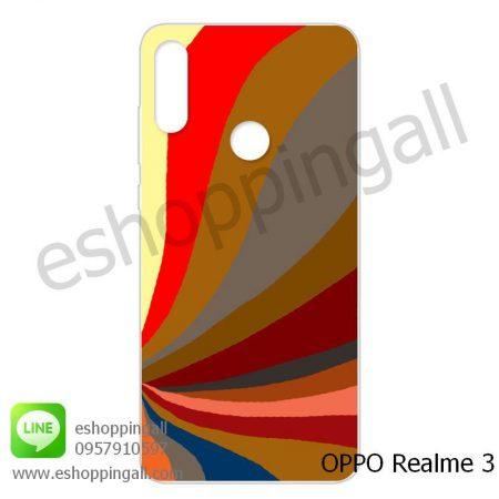 MOP-007A1106 OPPO Realme3 เคสมือถือออปโป้แบบแข็งพิมพ์ลาย