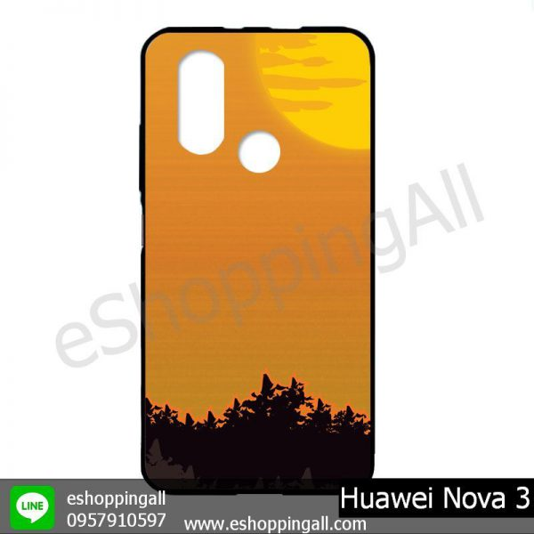 MHW-003A405 Huawei Nova 3 เคสมือถือหัวเหว่ยแบบยางนิ่มพิมพ์ลาย