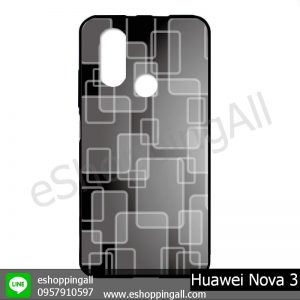 MHW-003A406 Huawei Nova 3 เคสมือถือหัวเหว่ยแบบยางนิ่มพิมพ์ลาย