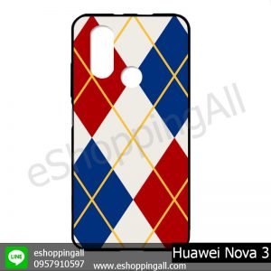 MHW-003A407 Huawei Nova 3 เคสมือถือหัวเหว่ยแบบยางนิ่มพิมพ์ลาย