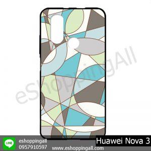 MHW-003A409 Huawei Nova 3 เคสมือถือหัวเหว่ยแบบยางนิ่มพิมพ์ลาย