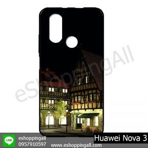 MHW-003A411 Huawei Nova 3 เคสมือถือหัวเหว่ยแบบยางนิ่มพิมพ์ลาย