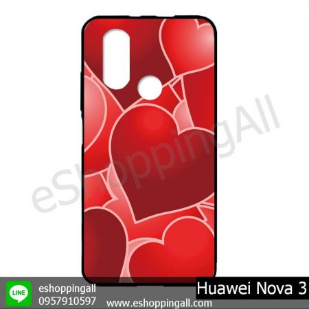 MHW-003A412 Huawei Nova 3 เคสมือถือหัวเหว่ยแบบยางนิ่มพิมพ์ลาย