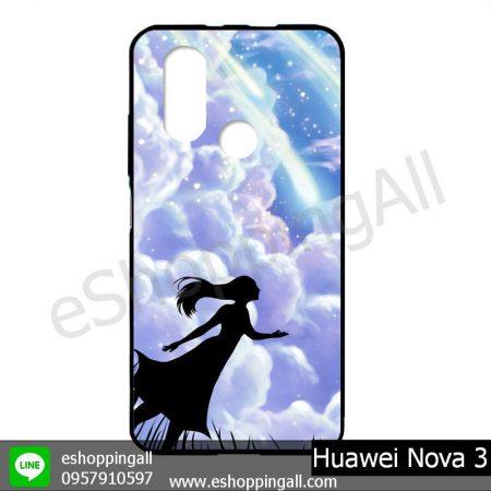 MHW-003A413 Huawei Nova 3 เคสมือถือหัวเหว่ยแบบยางนิ่มพิมพ์ลาย
