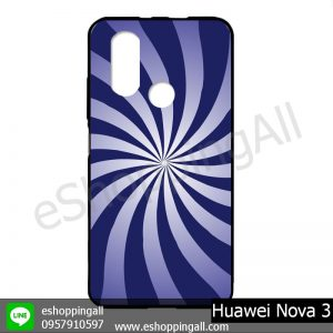 MHW-003A416 Huawei Nova 3 เคสมือถือหัวเหว่ยแบบยางนิ่มพิมพ์ลาย