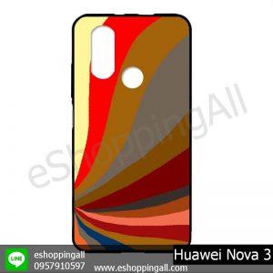 MHW-003A419 Huawei Nova 3 เคสมือถือหัวเหว่ยแบบยางนิ่มพิมพ์ลาย