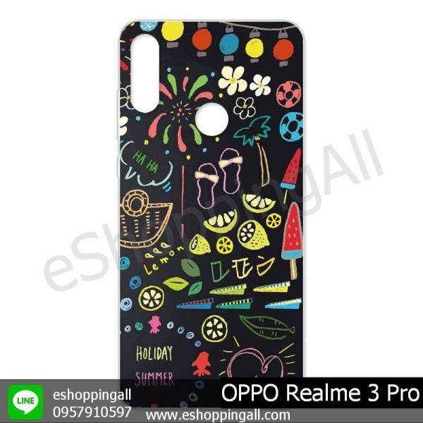 MOP-008A101 OPPO Realme 3 Pro เคสออปโป้แบบแข็งพิมพ์ลาย