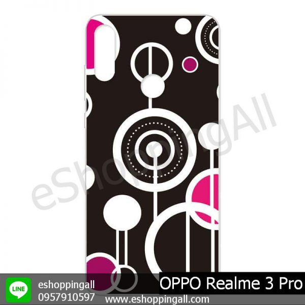 MOP-008A107 OPPO Realme 3 Pro เคสมือถือออปโป้แบบแข็งพิมพ์ลาย