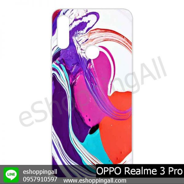 MOP-008A1010 OPPO Realme 3 Pro เคสมือถือออปโป้แบบแข็งพิมพ์ลาย