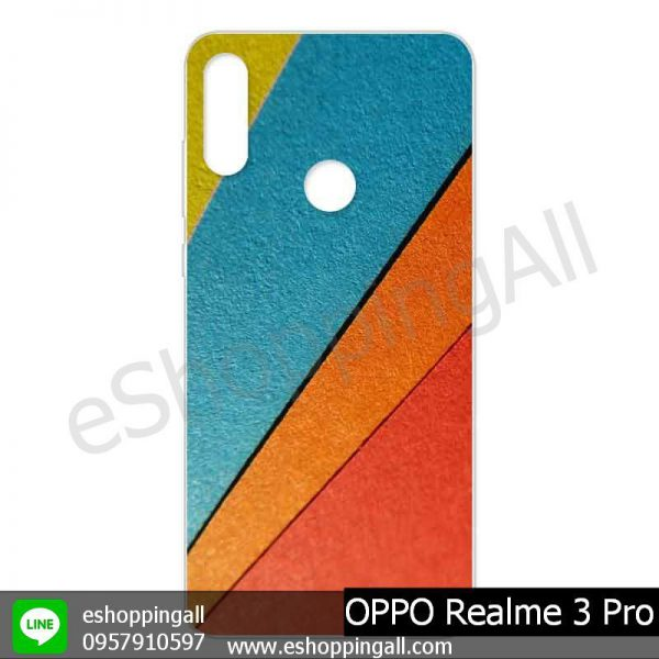 MOP-008A111 OPPO Realme 3 Pro เคสมือถือออปโป้แบบแข็งพิมพ์ลาย