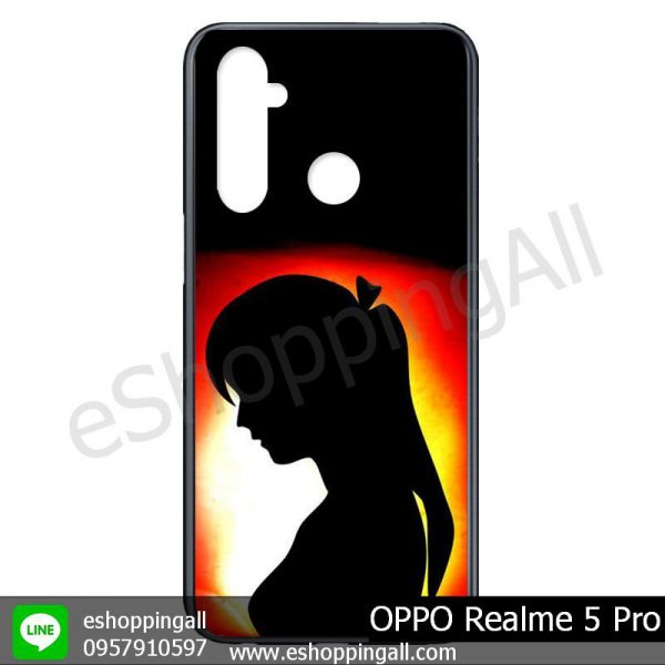 MOP-009A109 OPPO Realme 5 Pro เคสมือถือออปโป้แบบแข็งพิมพ์ลาย