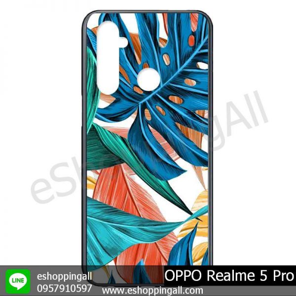 MOP-009A112 OPPO Realme 5 Pro เคสมือถือออปโป้แบบแข็งพิมพ์ลาย