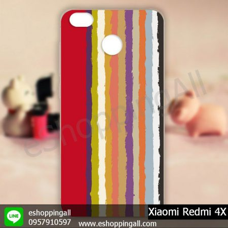 MXI-003A106 Xiaomi Redmi 4X เคสมือถือเสี่ยวมี่แบบแข็งพิมพ์ลาย