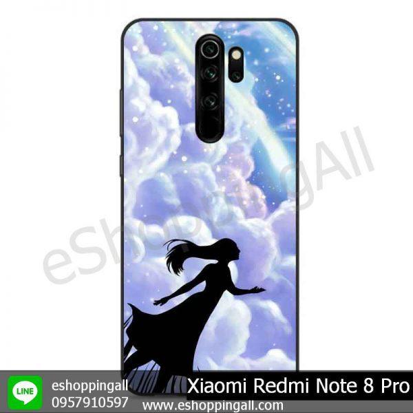 MXI-009A104 Xiaomi Redmi Note 8 Pro เคสมือถือเสี่ยวมี่ขอบยางพิมพ์ลายเคลือบใส