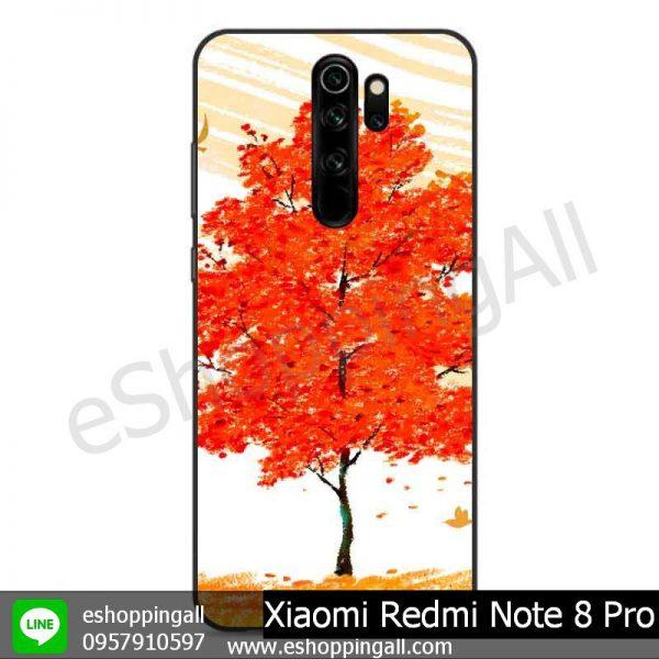 MXI-009A109 Xiaomi Redmi Note 8 Pro เคสมือถือเสี่ยวมี่ขอบยางพิมพ์ลายเคลือบใส