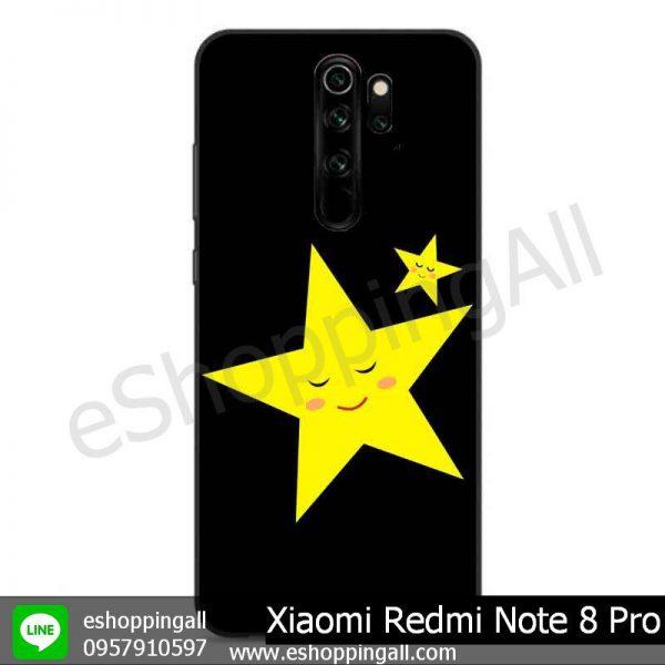 MXI-009A110 Xiaomi Redmi Note 8 Pro เคสมือถือเสี่ยวมี่ขอบยางพิมพ์ลายเคลือบใส