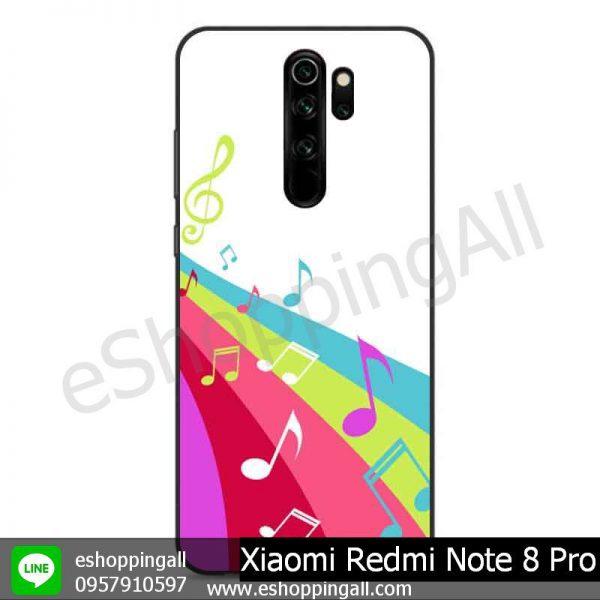 MXI-009A111 Xiaomi Redmi Note 8 Pro เคสมือถือเสี่ยวมี่ขอบยางพิมพ์ลายเคลือบใส