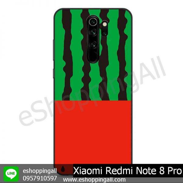 MXI-009A112 Xiaomi Redmi Note 8 Pro เคสมือถือเสี่ยวมี่ขอบยางพิมพ์ลายเคลือบใส