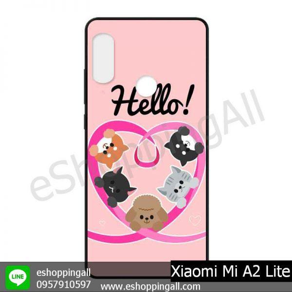 MXI-006A105 Xiaomi Mi A2 Lite เคสมือถือเสี่ยวมี่แบบยางนิ่มพิมพ์ลาย