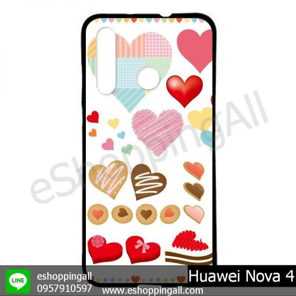 MHW-005A404 Huawei Nova 4 เคสมือถือหัวเหว่ยแบบยางนิ่มพิมพ์ลาย