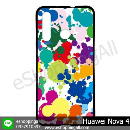 MHW-005A406 Huawei Nova 4 เคสมือถือหัวเหว่ยแบบยางนิ่มพิมพ์ลาย
