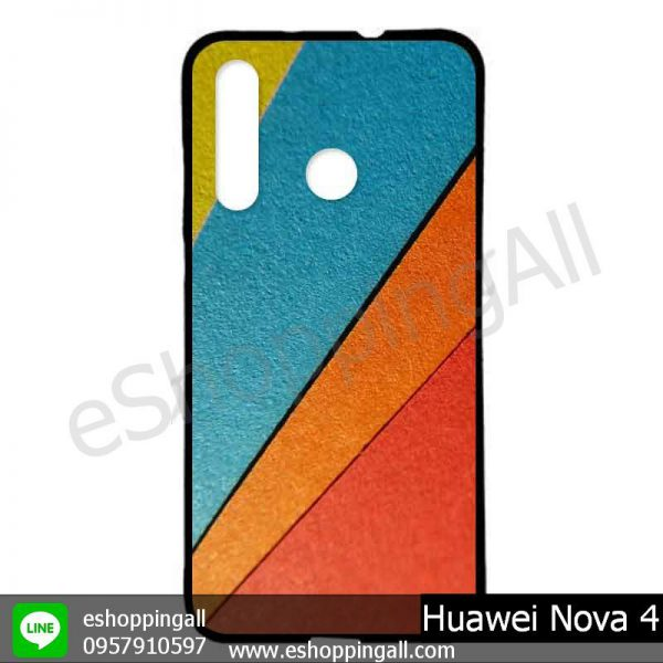MHW-005A412 Huawei Nova 4 เคสมือถือหัวเหว่ยแบบยางนิ่มพิมพ์ลาย
