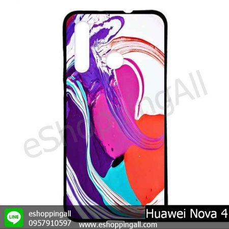 MHW-005A411 Huawei Nova 4 เคสมือถือหัวเหว่ยแบบยางนิ่มพิมพ์ลาย